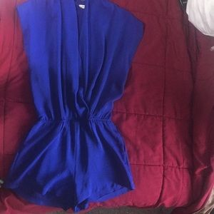 Other - Royal Blue Romper